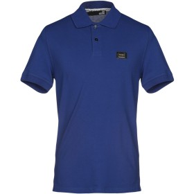 《期間限定セール開催中!》LOVE MOSCHINO メンズ ポロシャツ ブルー XS 95% コットン 5% ポリウレタン