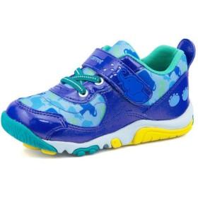 Carrot(キャロット) キッズ スニーカー【撥水】 CR C2221 ブルー 運動靴 ボーイズ