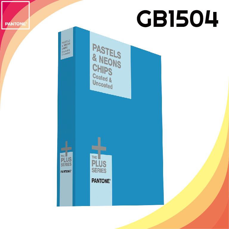 【PANTONE】 PASTE&NEONS CHIP BOOK  粉彩色 & 霓虹色色票 - GB1504