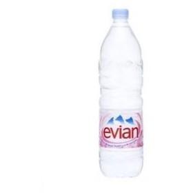〔ケース販売〕ミネラルウォーター エビアン(evian)ペットボトル1.5L×24本セット まとめ買い【配達日時指定不可】