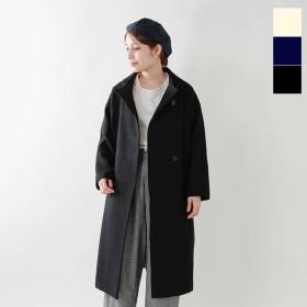 SI-HIRAI スーヒライ ウールカージーハイネックローブコートMID chaw18-3818wp