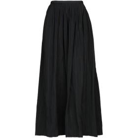 《期間限定 セール開催中》BRUNELLO CUCINELLI レディース ロングスカート ブラック 42 ポリエステル 84% / シルク 16% / エコブラス