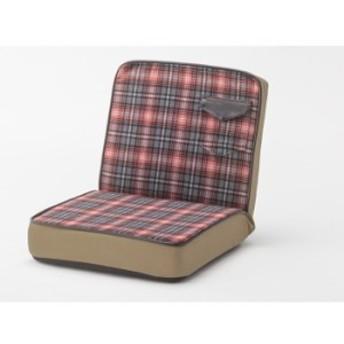フロアチェア レッド az-rkc-934rd 北欧/インテリア/セール/モダン/送料無料/激安/ 座椅子/リクライニング/座椅子カバー/座椅子/コンパ