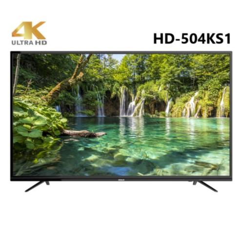 HERAN 禾聯 50吋 4K LED連網液晶顯示器+視訊盒 HD-504KS1