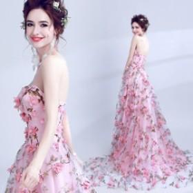 夏新作 夏服 パーティドレス 結婚式ドレス 二次会 お呼ばれ 20代 30代 40代 ワンピース  ウェディングドレス ハートカット