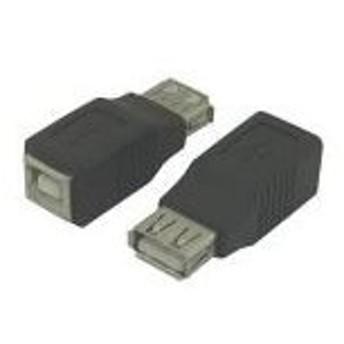 (まとめ)変換名人 USB中継 USB A→B USBAB-USBBB〔×20セット〕【配達日時指定不可】