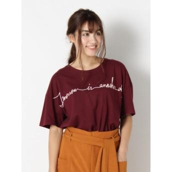 In This Life drioli バイオ加工ロゴプリントTシャツ