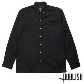 【PUBLISH BRAND/パブリッシュブランド】DANEY 長袖シャツ / BLACK