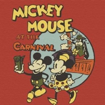 ミッキーマウス dsny-1710-19 アートパネル Mサイズ 30cm×30cm ディズニー lib-5885311s1 北欧/インテリア/セール/モダン/送料無料/激