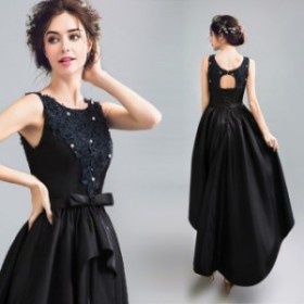 パーティドレス 結婚式ドレス 二次会 お呼ばれ 20代 30代 40代 ワンピース  ウェディングドレス ノースリーブ