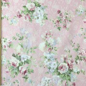 華やかなバラ ピンク