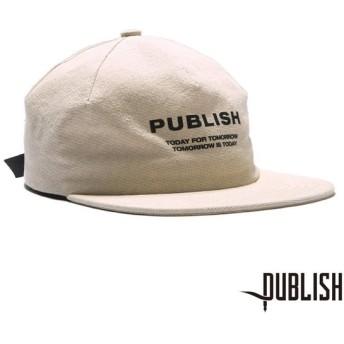 【PUBLISH BRAND/パブリッシュブランド】T4T ストラップバックキャップ / CREAM