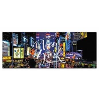 ニューヨーク ウォールデコ poht_w-1701-02 ワイドサイズ アートパネル アートデリ ワイドサイズ 30cm×78.5cm lib-5364993s1 北欧/イン