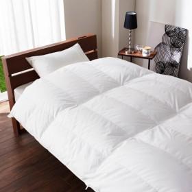 布団 掛け布団 羽毛布団 日本製 寝返りしやすいキルティングの羽毛布団