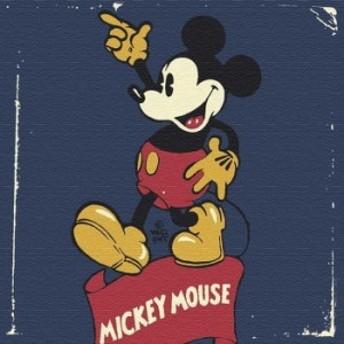 ミッキーマウス dsny-1710-21 アートパネル Mサイズ 30cm×30cm ディズニー lib-5885313s1 北欧/インテリア/セール/モダン/送料無料/激
