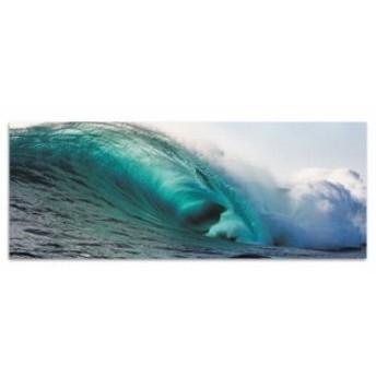 海 壁掛けアート サーフ poht-w-1705-02 ワイドサイズ アートパネル アートデリ ワイドサイズ 30cm×78.5cm lib-5527116s1 北欧/インテ