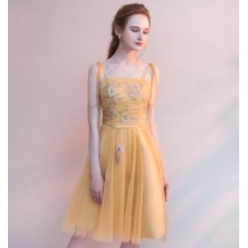 キャミソールドレス パーティードレス 結婚式 ワンピース ドレス 大きいサイズ 20代 30代 舞台ドレス 二次会 親族 演奏会 キャバ ドレス