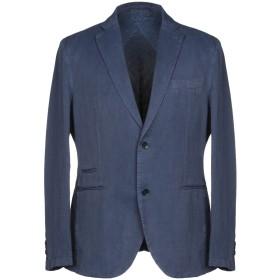 《期間限定セール開催中!》TRU TRUSSARDI メンズ テーラードジャケット ブルーグレー 54 55% 麻 45% コットン