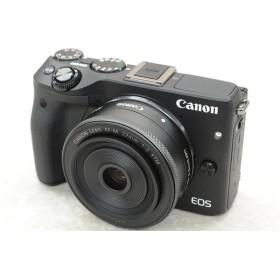 [中古] ミラーレスカメラ EOS M3 ダブルレンズキット ブラック 9694B024