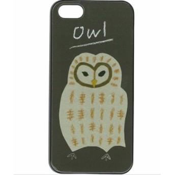iPhoneSE iPhone5s iPhone5 ハード ケース Owl