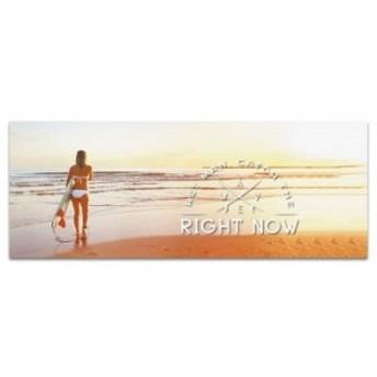 サーファー 壁掛けアート popa-w-1612-04 ワイドサイズ アートパネル アートデリ ワイドサイズ 30cm×78.5cm lib-5364985s1 北欧/インテ
