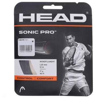 ヘッド ソニック プロ 125 ブラック (281028) 硬式テニス ストリング HEAD
