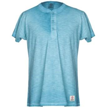 《9/20まで! 限定セール開催中》FRANKLIN & MARSHALL メンズ T シャツ アジュールブルー XS 100% コットン