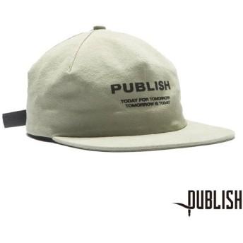 【PUBLISH BRAND/パブリッシュブランド】T4T ストラップバックキャップ / SAGE