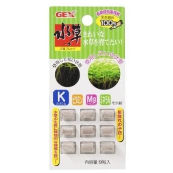 ジェックス GEX 水草一番 栄養ブロック 9錠 掃除・フィルター・ケア用品