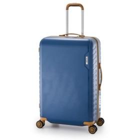 cd7afaa1ac スーツケース/キャリーバッグ 〔ターコイズブルー〕 90L 手荷物預け無料最大サイズ ダイヤル