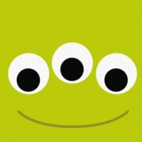 リトルグリーンメン アートパネル ディズニー pix-0062 Mサイズ 30cm×30cm lib-4992578s1 /北欧/インテリア/セール/モダン/送料無料/激