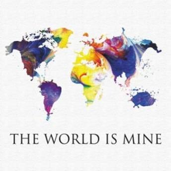 世界地図 壁掛けアート ポップアート pop-1610-002 アートパネル アートデリ Sサイズ 15cm×15cm lib-5157302s2 /北欧/インテリア/セール