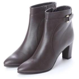 アンタイトル シューズ UNTITLED shoes ショートブーツ (ダークブラウン)