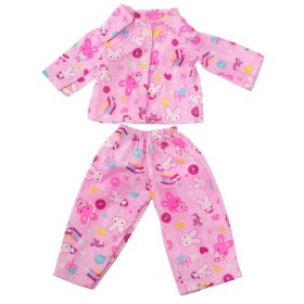 人形 ソフト パジャマ 18インチアメリカンガールドール適用 装飾 全5種類 - 04