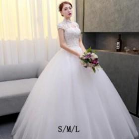 ウエディングドレス 介添えドレス 食事会 きれいめ 花嫁 お腹隠れる 花嫁の結婚式 お呼ばれ 女性 ブライズメイド 忘年会