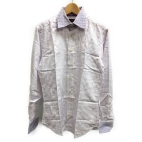 美品 エトロ SIZE 39 (S) 長袖ドレスシャツ ETRO メンズ  中古