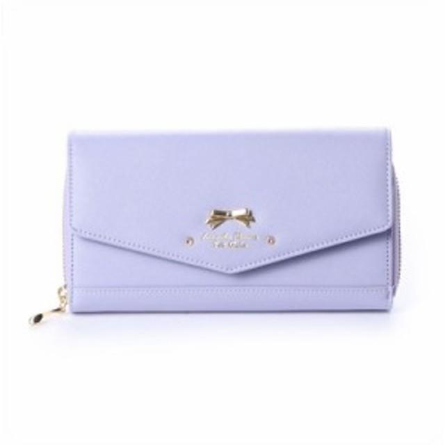サマンサタバサプチチョイス SamanthaThavasaPetitChoice 長財布 オリジナルリボン ウォレットバッグ ピンク