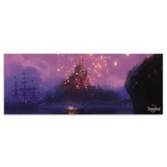ラプンツェル ファブリックパネル ディズニー dsny-w-1701-01 アートパネル アートデリ ワイドサイズ 30cm×78.5cm lib-5412461s1 北欧/