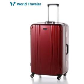 バッグ カバン 鞄 レディース キャリーバッグ スーツケース スーツケース 91L カラー レッド