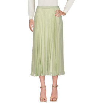 《セール開催中》MAISON MARGIELA レディース 7分丈スカート ライトグリーン 40 アセテート 54% / ナイロン 26% / シルク 20%