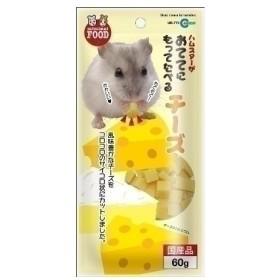マルカン おててにもってたべるチーズ 60g 小動物フード