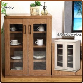 食器棚 キャビネット ブラウン キッチン 台所 収納 キッチン ストッカー 多目的 キッチン収納 食器棚 食器収納 隙間 すきま アウトレット