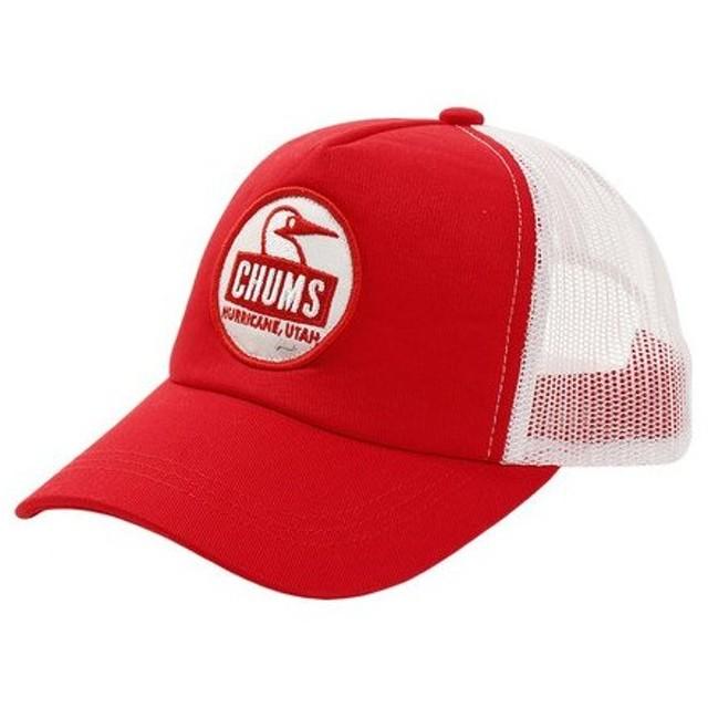 4456f0d15561a チャムス(CHUMS) ジュニア ブービーフェイスメッシュキャップ CH25-1017 Red 帽子 (Jr