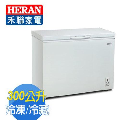 HERAN 禾聯 300L 臥式冷凍櫃 HFZ-3062 ■全冷凍、冷藏技術,新鮮不流失 (含運不含安裝,樓層費另計)