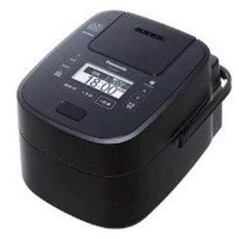 Panasonic(パナソニック) SR-VSX108-K 可変圧力スチームIH炊飯ジャー 「Wおどり炊き」(5.5合) ブラック