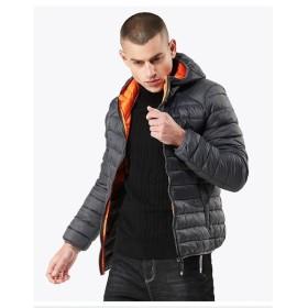 2018新品冬メンズ 中綿コート 超軽量綿ジャケットファッション大きいサイズ 冬着暖かい  防寒 防風 保温 普段着  通勤用
