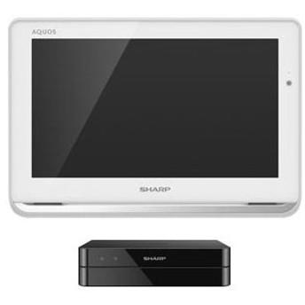 シャープ 12V型ポータブルデジタルハイビジョン液晶テレビ(ホワイト) (500GB HDD内蔵録画対応)AQUOSポータブル 2T-C12AP-W 返品種別A