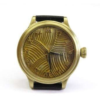 mizuna水無/真鍮の腕時計 メンズ【受注生産】