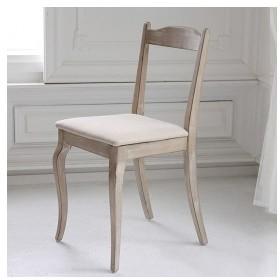 木製デスクチェア ダイニングチェア 1人掛け アンティークシャビーシックイス いす シシリー 椅子 スツール 1人用 一人用 代引不可