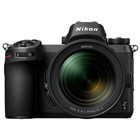【ニコン】 小型一眼カメラ 1本レンズキット(標準ズーム) 4K Z6LK24-70 デジタル一眼カメラ